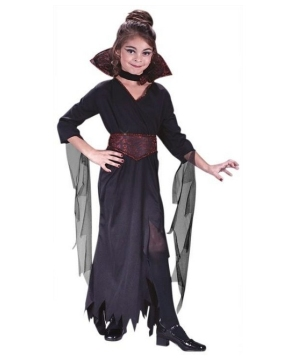 Rose Vampiress Kids Costume
