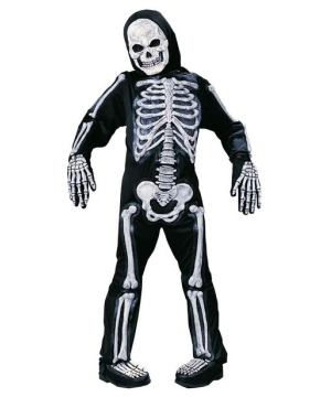 Skelebones Kids Costume