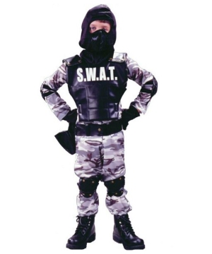 Swat Kids Costume