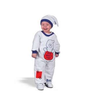 Cute Little Ghost Baby Costume