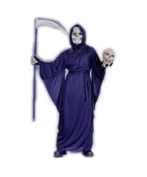Fancy Grim Reaper Kids Costume