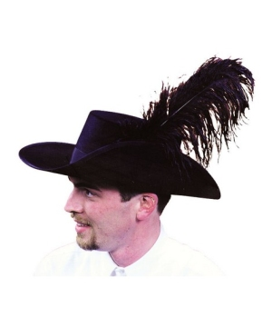 Cavalier Hat Quality Costume Accessory