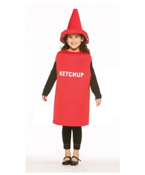 Ketchup Costume - Kids Costume