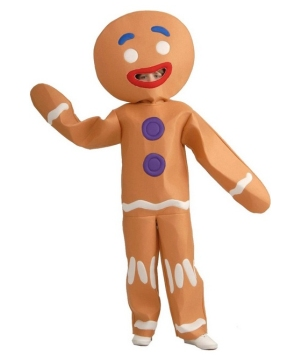 Shrek Gingerbread Man Boys Costume
