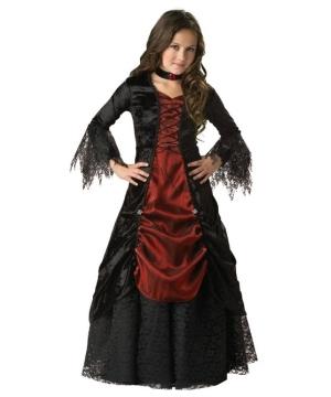 Gothic Vampira Kids Costume deluxe