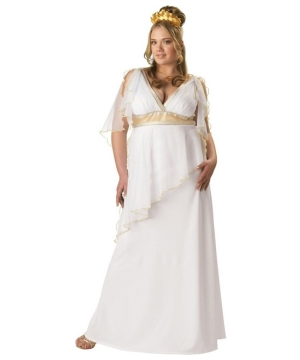 Greek Goddess Costume - Elite Collection Adult plus Costume
