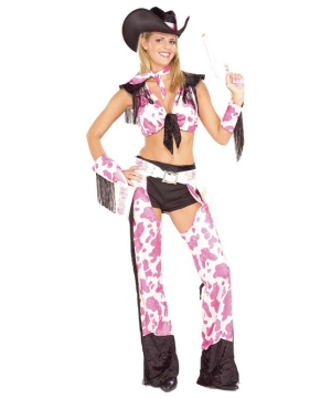 Gun Slinging Gal Adult Costume