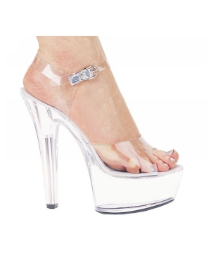Brook 601 Clear Platform - Women Shoes