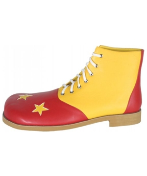Shoe Clown Red and Yellow Star- Men's Shoes