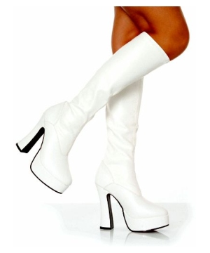 Chacha Boot White - Adult Shoes