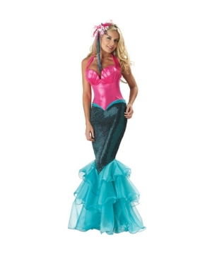 mermaid women costume