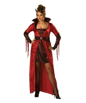 Seductive Devil plus size Costume