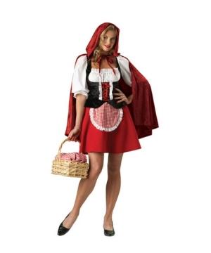 Red Riding Hood Sexy Women Costume