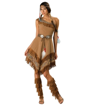 Indian Maiden Dress Women Costume