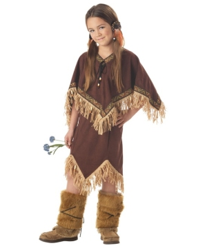 Wild Flower Costume - Kids Indian Costume