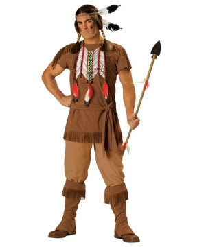 Indian Warrior Costume - Adult Costume