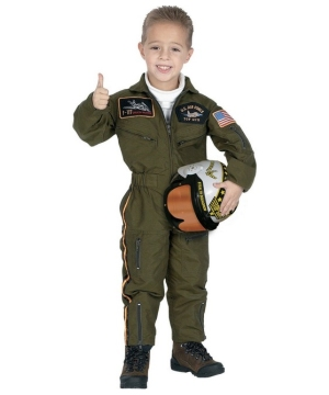 Air Force Pilot Kids Costume