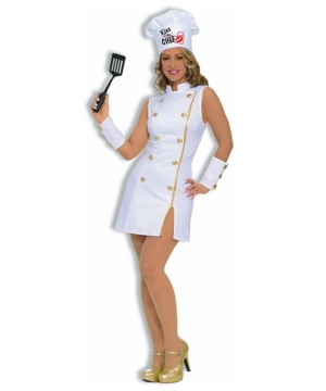 Kiss the Chef Costume - Adult Costume
