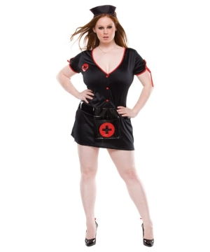 Knockout Nurse Costume - Adult plus size Costume