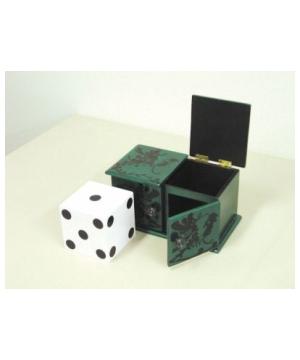 Sliding Die Box Magic Trick