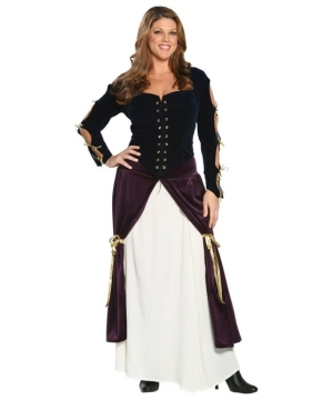 Lady Musketeer Renaissance plus size Costume