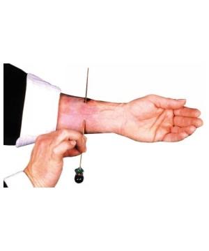 Needle Thru Arm Magic Trick