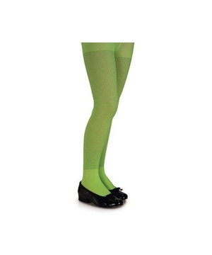 Green Kids Tights