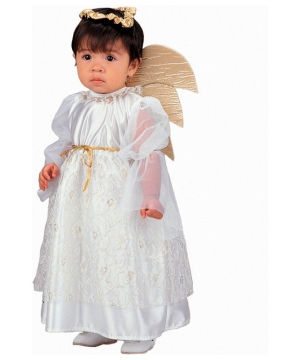 Gold Angel Baby Costume