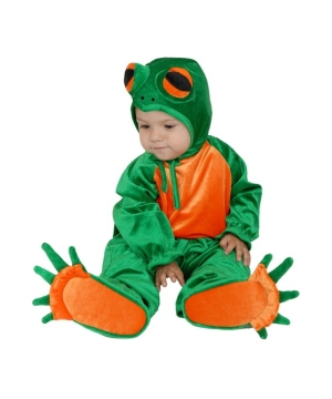 Little Frog Kids Costume