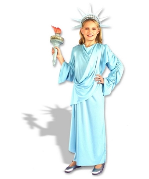 Little Miss Liberty Girls Costume