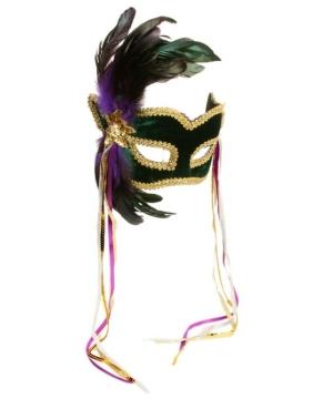 Mardi Gras Masquerade Adult Mask