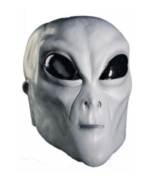 Green Alien Adult Mask