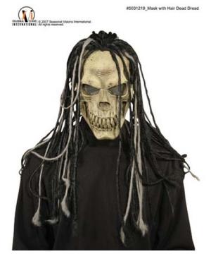 Dead Dread Mask With Hair