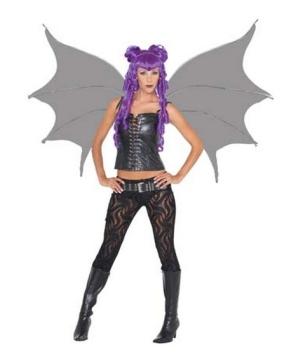 Demonette Wings Black
