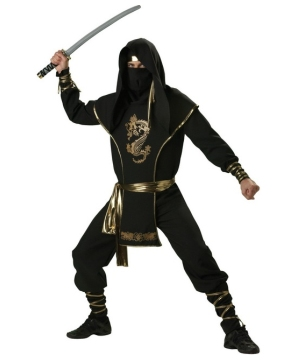 Ninja Warrior Elite Collection - Adult Costume