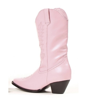 Rodeo Boots - Child Shoes - Pink
