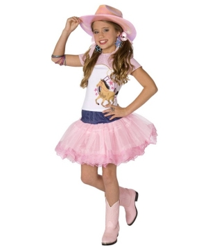 Planet Pop Star Cowgirl Kids Costume