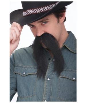 The Western Black Mustache