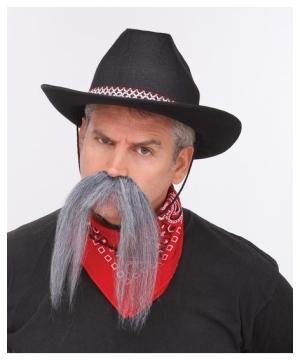 Western Grey Mustache