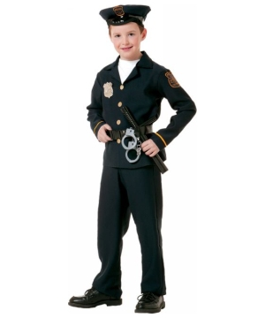 Police Officer Costume - Kids Costume