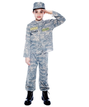Us Army Officer Kids Costume