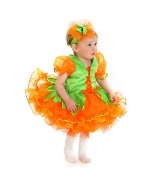 Pumpkin Princess Infant Costume