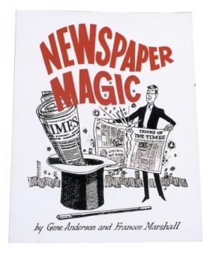 Newspaper Magic Magic Trick Book
