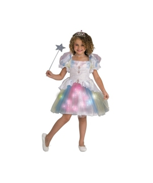 Rainbow Ballerina Girls Costume