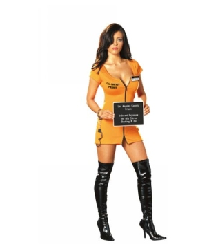 Ally Catraz Prisoner Women Costume
