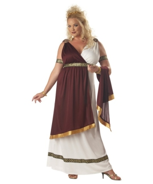Roman Empress Costume - Adult plus size Costume