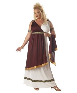 Womens Roman Empress Plus size Costume