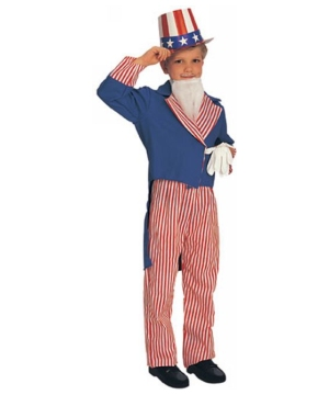 Uncle Sam Boys Costume