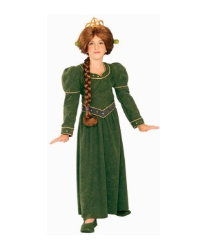 Princess Fiona Kids Costume deluxe