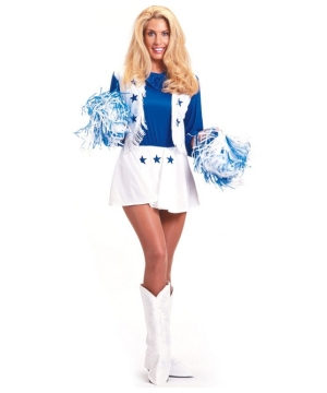 Dallas Cowboys Cheerleader Adult Costume